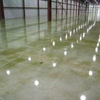 Imperseal aplicado em piso de cimento polido