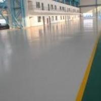 Imperpoly Color aplicado em piso de concessionária