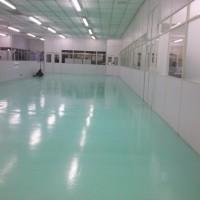 Imperpoly color aplicado em piso
