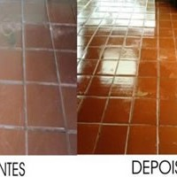 Imperseal aplicado em piso de cerâmico