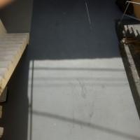 Pav color aplicado em piso de cimento poroso