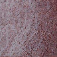 Imperseal aplicado em piso de concreto estampado