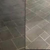 LK-2000 ácido na limpeza de pedras Antes e Depois