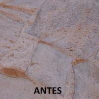 LK-2000 ácido na limpeza de pedras Antes