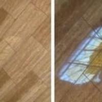 Cellux aplicada em piso laminado