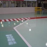 Cellux aplicada em piso epóxi