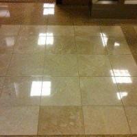 Cellux aplicada em piso de granito