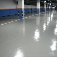 Imperpoly Color aplicado em piso de galpão industrial
